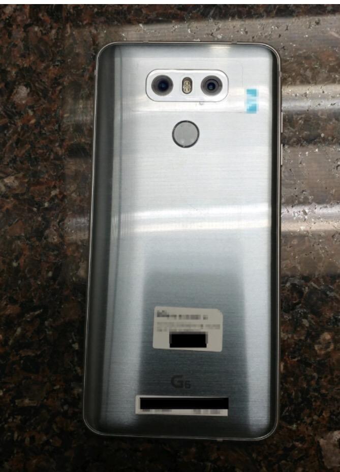 LG G6更多细节泄漏 - 后壳细节