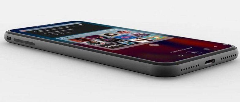 iphone 10周年纪念版效果图
