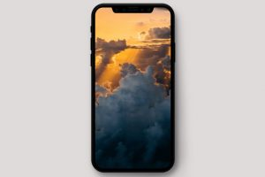 iPhone X Wallpaper 高清壁纸 云景图 view 300x200 - iPhone X高清壁纸之云景图