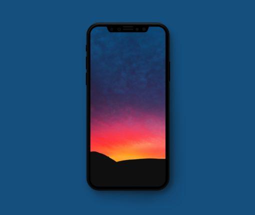 iPhoneX壁纸 壮美山景高清图 view - iPhone X高清壁纸之云景图