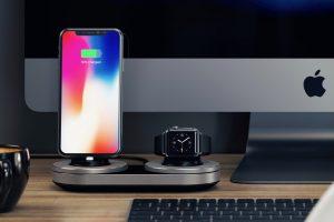 iPhone和Apple Watch无线充电底座支架 view 300x200 - iPhone和Apple Watch无线充电底座 排排坐吃果果