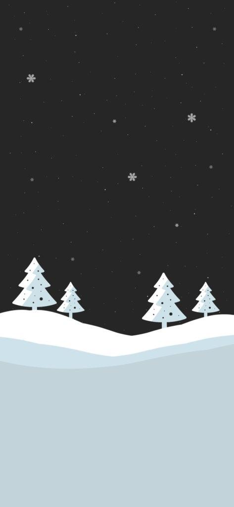 iPhone X Wallpaper 高清壁纸 圣诞 2 - iPhone X高清壁纸之圣诞