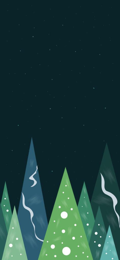 iPhone X Wallpaper 高清壁纸 圣诞 5 - iPhone X高清壁纸之圣诞