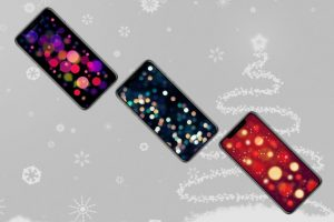 iPhone X Wallpaper 高清壁纸 圣诞 view 300x200 - iPhone X高清壁纸之圣诞