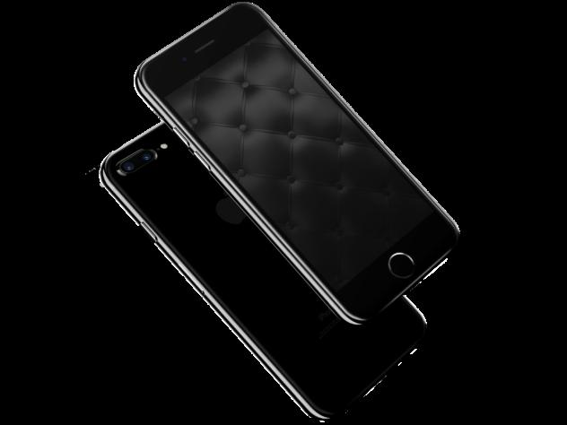 iPhoneX壁纸 黑色主题 view - FaceApp:逼你笑起来