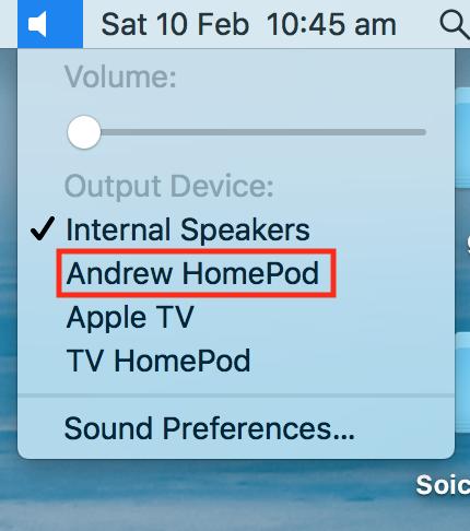 Mac或者MacBook连接HomePod的最优办法 2 - Mac和MacBook连接HomePod的最优办法