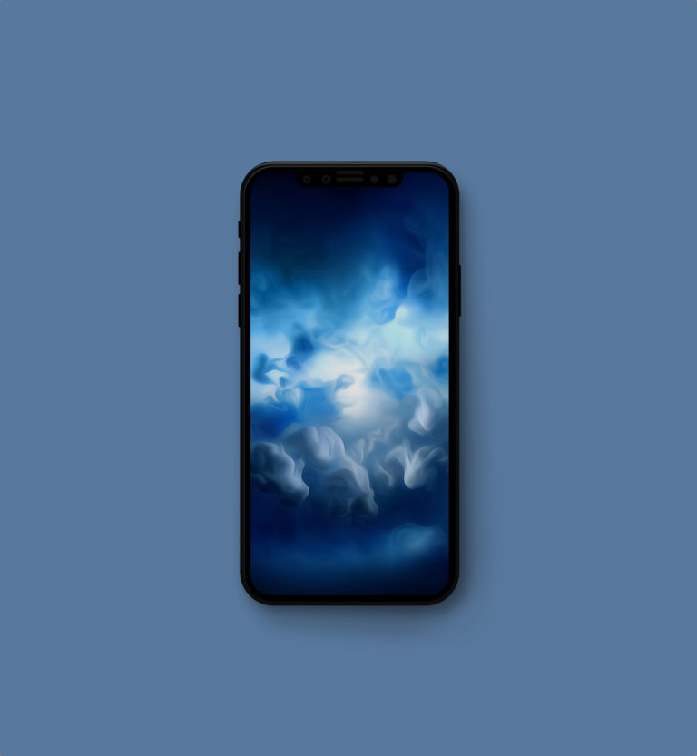 iPhone高清壁纸之iMac Pro壁纸优化移植裁剪 view - iPhone X高清壁纸之云景图
