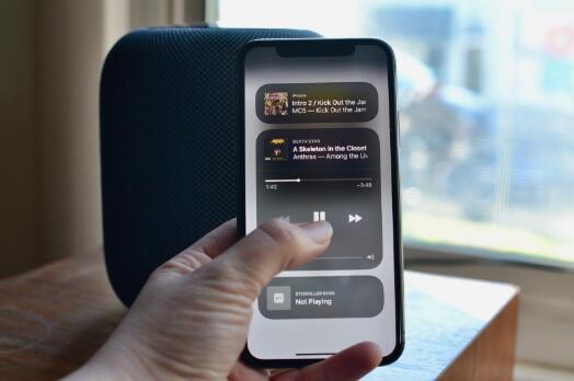 iPhone连接HomePod常见问题解答 - HomePod顶部状态指示灯表示什么意思