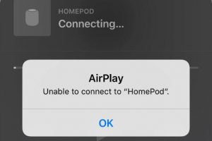 AirPlay不能连接HomePod 300x200 - AirPlay不能连接HomePod 怎么办
