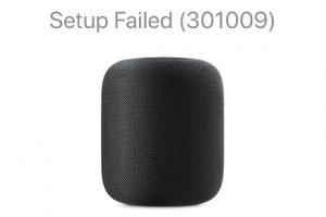 iPhone看不到HomePod 301009 300x200 - HomePod第一次连接设置 iPhone看不到HomePod怎么办(301009)