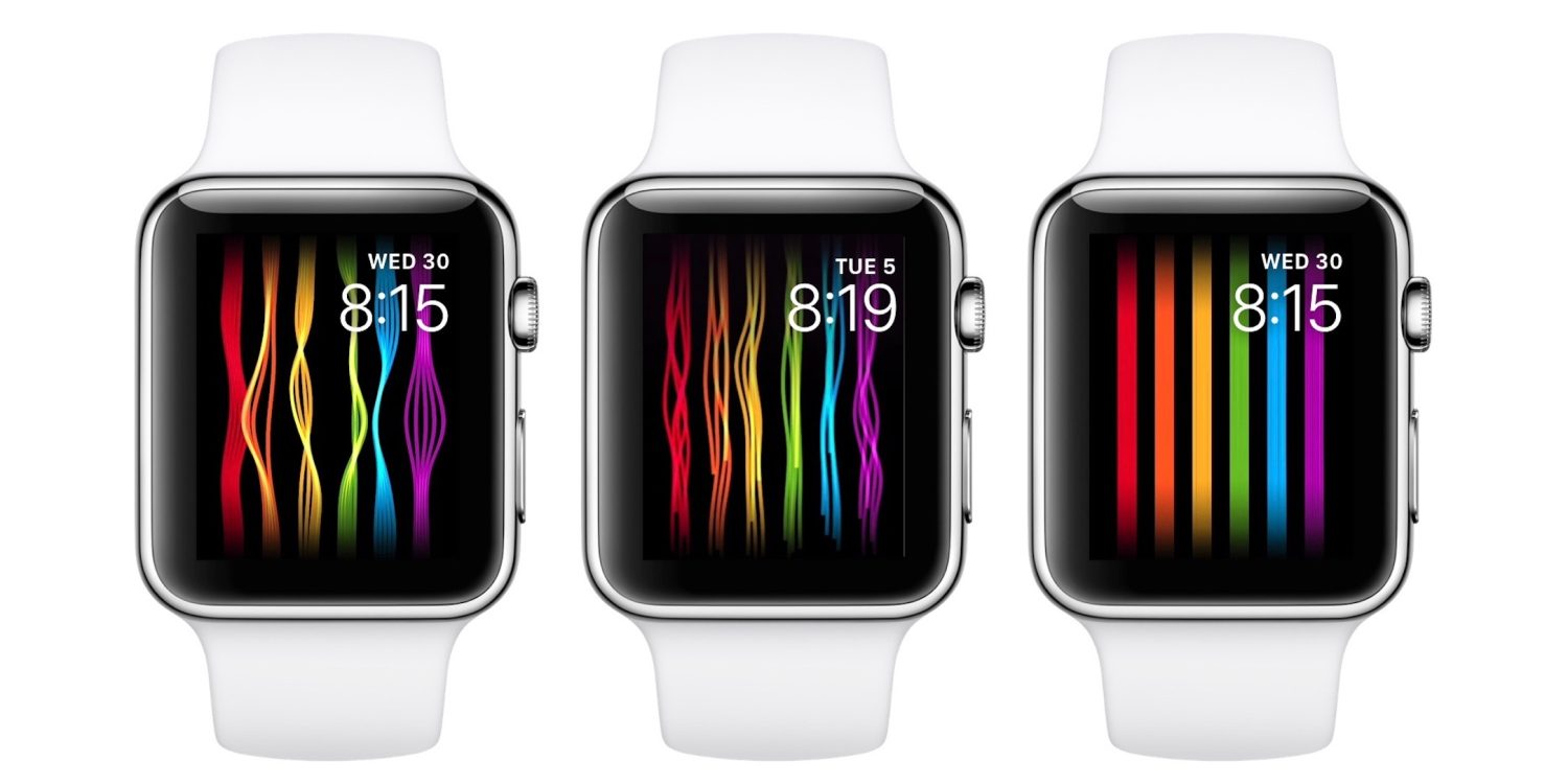 pride apple watch view - iPhone如何设置iCloud钥匙串