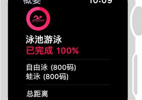 apple watch 查看游泳体能训练摘要 282x200 - Apple Watch游泳操作步骤及注意事项