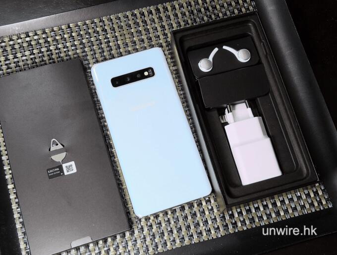 samsung galaxy s10 plus box items - 三星最新旗舰 Galaxy S10+ 开箱抢先看
