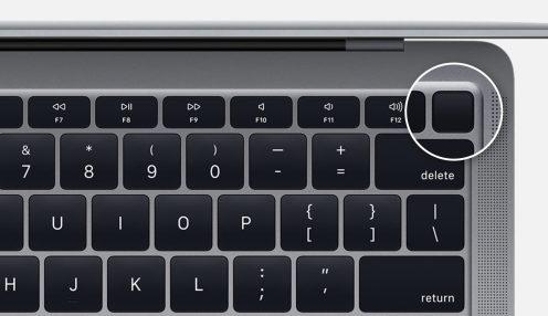 2018 macbook air power button - Macbook的电源按钮在哪里