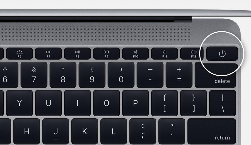 old macbook power button 1 1 1024x591 - Macbook的电源按钮在哪里