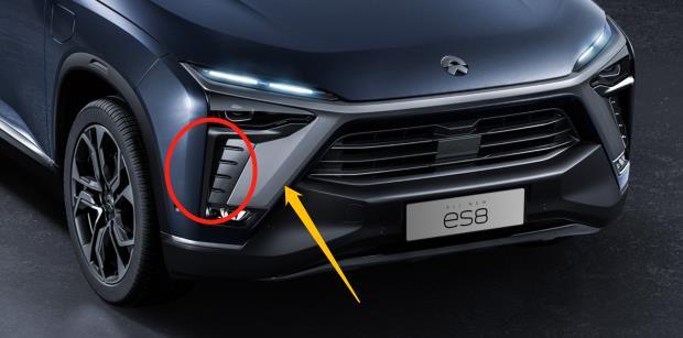新款es8进气口 - 蔚来『辛巴』是什么意思?『辛巴』是哪款车?